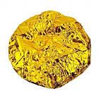 Шапочка для душа из фольги Beauty LUXURY термостойкая CS-06 Золотая фольга, фото 3