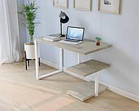 Компактный стол лофт Письменный стол лофт Стол офисный Компьютерный стол лофт стиль