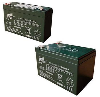 Акумуляторні батареї FAAM FTS(AGM, термін служби 7-10 років, гарантія 24 міс.)