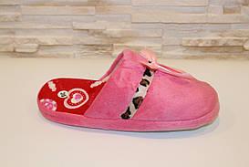 Тапочки комнатные женские розовые Тп34