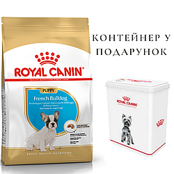 Корм Royal Canin French Bulldog Puppy Роял Канін Французький Бульдог Папi для цуценят 1 кг