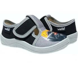 Тапочки Waldi Гриша black-grey 24-30