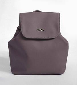 Жіночий сірий міні рюкзак код 9-52