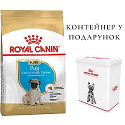 Корм Royal Canin Pug Puppy Роял Канін Мопс Юніор для цуценят собак 1.5 кг