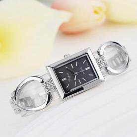Наручний годинник жіночі з кристалами код 253