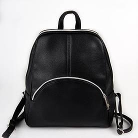 Рюкзак чорний жіночий код 25-20742
