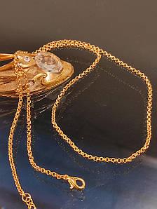 Ланцюжок позолочена 45 см код 1575