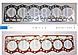 Прокладка ГБЦ Komatsu 6D105 (Коматсу 6д105) 6136-11-1813, фото 3