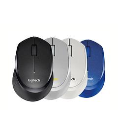 Миша Logitech M330 Silent Plus Wireless Black (910-004909) 4 кольори Відгук без звуку клацання