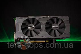 Видеокарта GTX 1060 3GB Inno3D X2 (N106F-2SDN-L5GS) Б/У / Trade-in / Tera-Flops