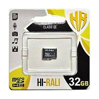 Карта памяти Hi-Rali microSDHC 32GB Class 10 (HI-32GBSDCL10-00)