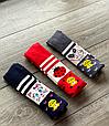 Детские демисезонные колготки KBS хлопок для девочек ассорти цветов с рисунком зверушек, фото 5