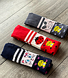 Детские демисезонные колготки KBS хлопок для девочек ассорти цветов с рисунком зверушек, фото 7