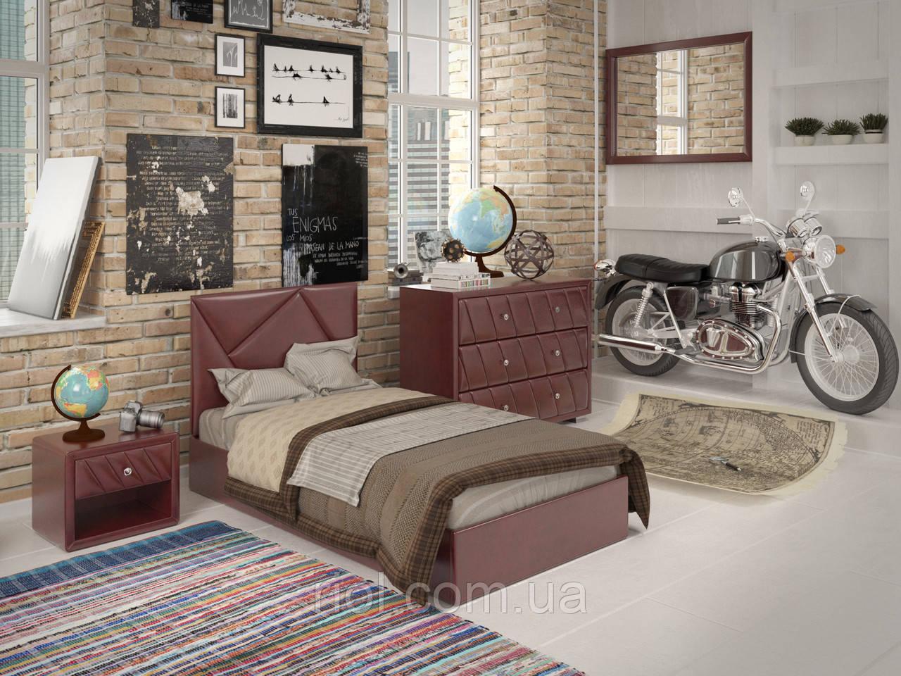 Односпальне ліжко Бейліс міні з підйомним механізмом
