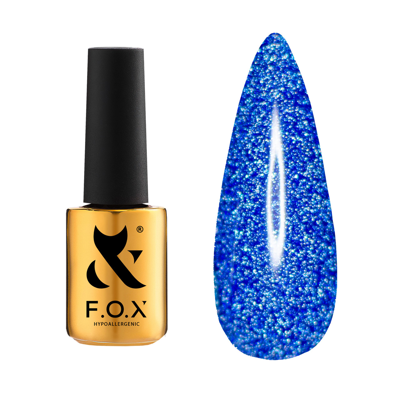 Гель-лак для нігтів F.O.X Flash 6 мл, № 011