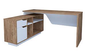 """Кутовий письмовий стіл """"Норд / Nord"""" від Intarsio"""