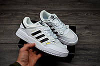 Мужские кроссовки Adidas Drop Step Low White адидас дроп степ реплика
