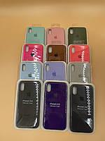Чехол защитный Silicon Case for iPhone X/Xs