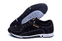 Літні чоловічі кросівки чорного кольору з перфорацією чорні Columbia Black (репліка), фото 1
