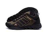 Летние мужские фирменные кроссовки цвета хаки Adidas Terrex (реплика)