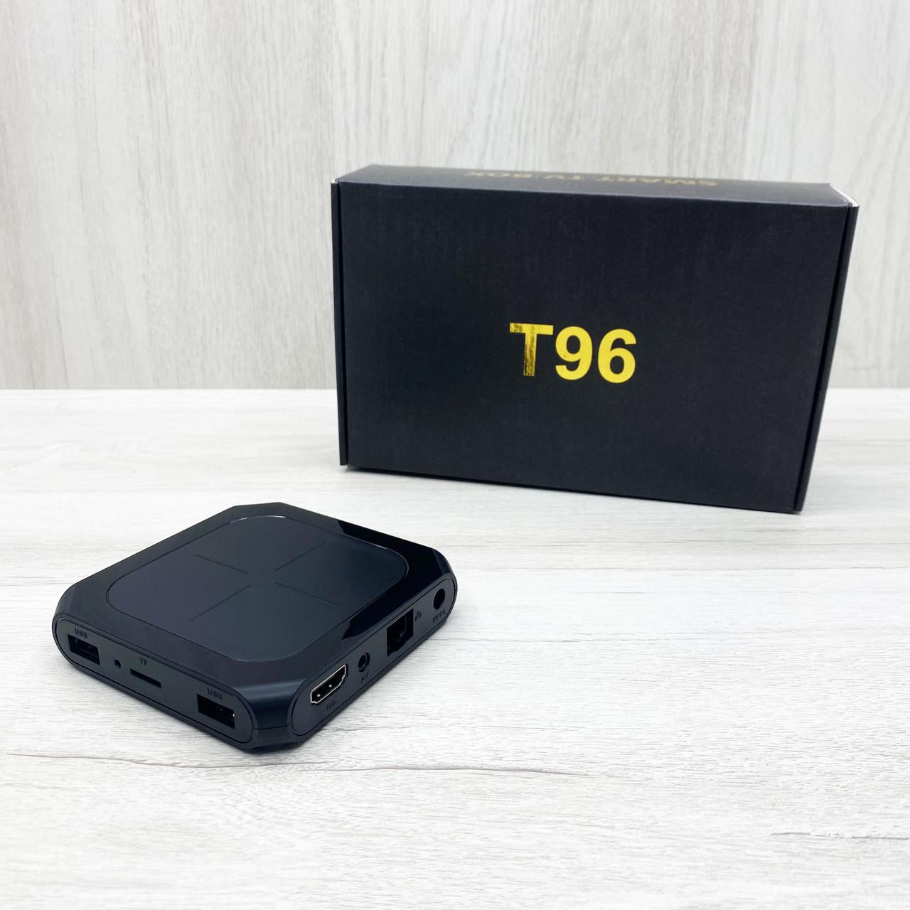 Смарт тв-приставка T96 2/16Gb (чёрная)