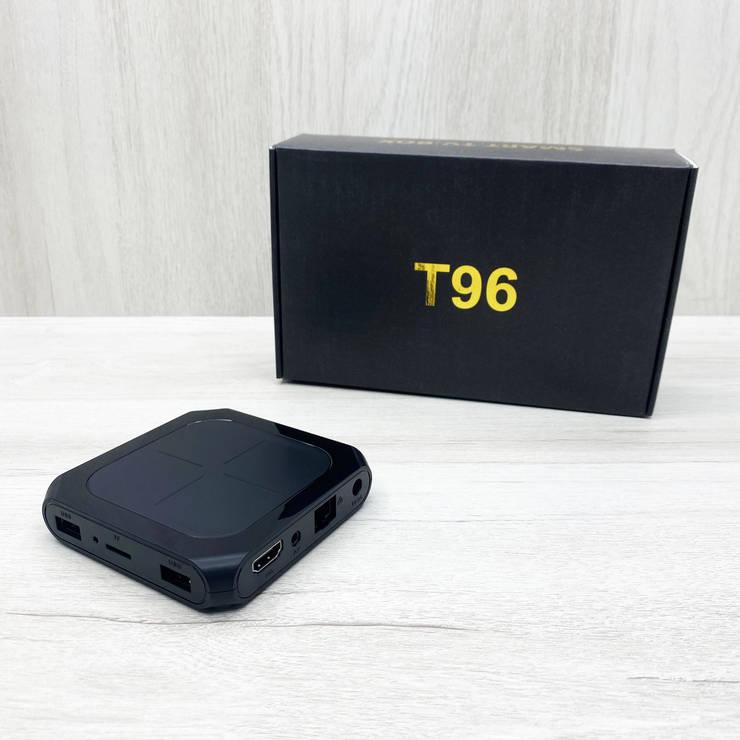 Смарт тв-приставка T96 2/16Gb (чёрная), фото 2
