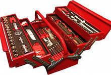 Набор инструмента в металлическом ящике 88 ед. ShiningBerg 10088 (Китай)