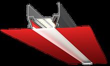 Профіль ALTEZA для натяжних стель - Vector (без фарбування) (2м. п.)