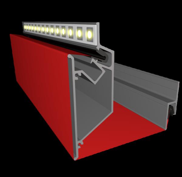 Профиль ALTEZA для натяжных потолков - Duplex (2м.п.)