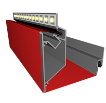 Профіль ALTEZA для натяжних стель - Duplex (2м. п.)