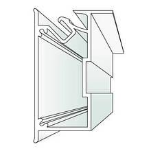 Профіль ALTEZA для натяжних стель - Duplex NEW (2м. п.)