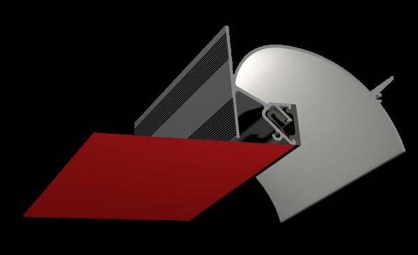 Профиль ALTEZA для натяжных потолков - Zeta (2м.п.)
