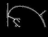 Профиль ALTEZA для натяжных потолков - Zeta (2м.п.), фото 2