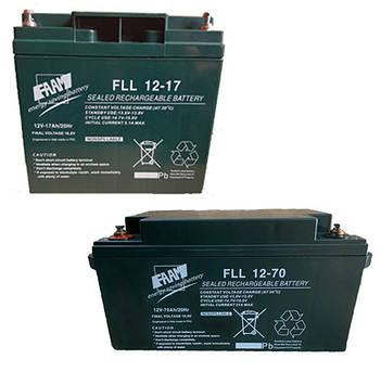 Акумуляторні батареї FAAM FLL (AGM, термін служби 12+ років, гарантія 24 міс.)
