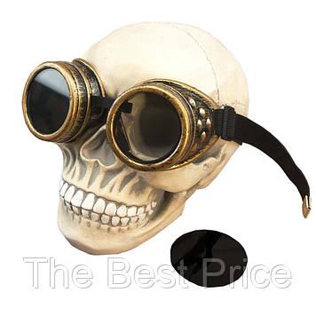 Очки Стимпанк Гогглы Премиум (медь)