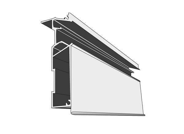 Профиль ALTEZA для натяжных потолков - Optima LED-70 (2м.п.)