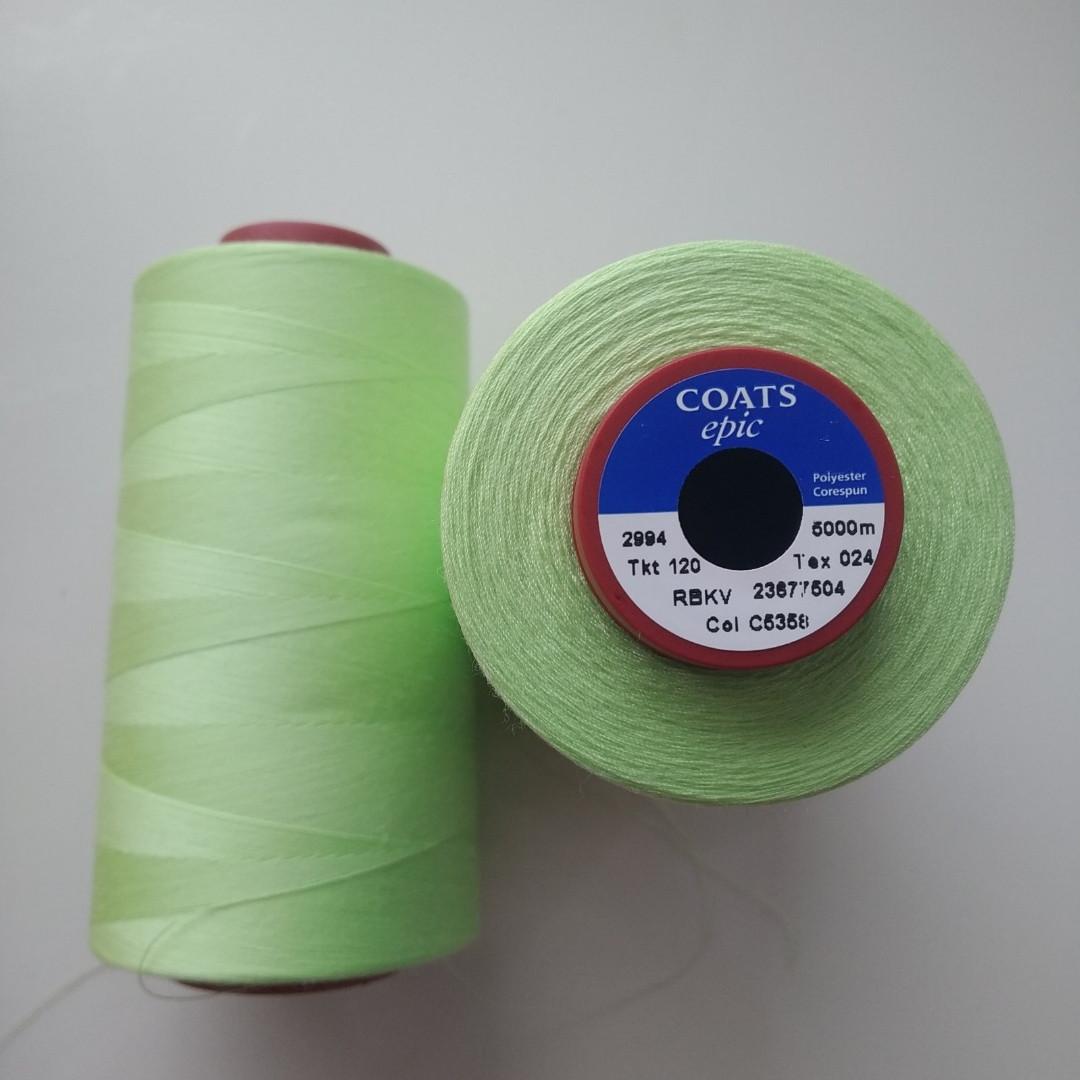 Нитки Coats Epic 05358/ 120/5000м.