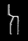 Профіль ALTEZA для натяжних стель - Climatic (2,5 м. п.), фото 2