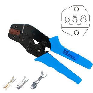 Кримпер клещи для обжима опрессовки наконечников клемм 0.5-1.5мм SN-48B