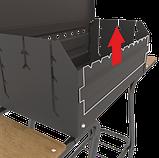 Мангал мобільний-стаціонар на колесах MOUSSON VULCAN BOX, фото 5
