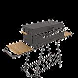 Мангал мобільний-стаціонар на колесах MOUSSON VULCAN BOX, фото 6
