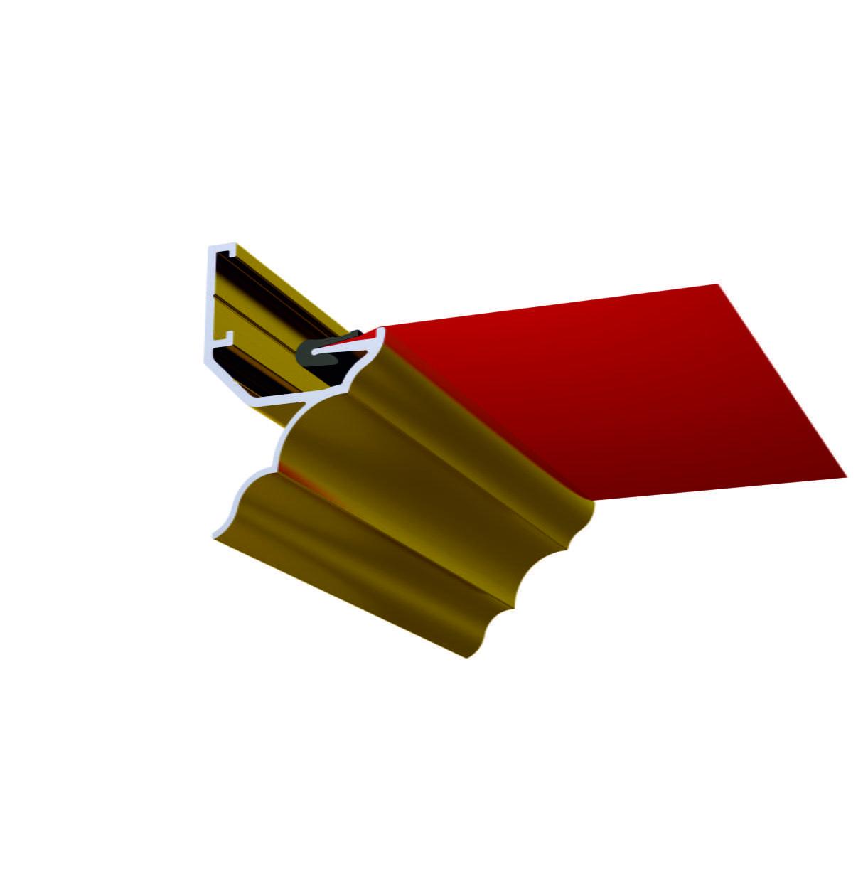 Профіль ALTEZA для натяжних стель - Antique (2,5 м. п.)