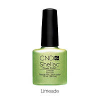 CND Shellac Limeade / молочно-зеленый с перламутровым металликом, 7,3 мл