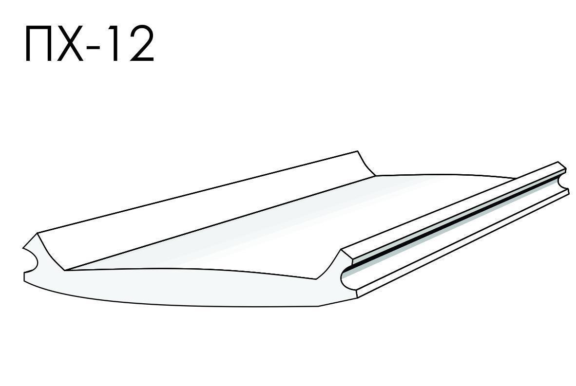 Вставка ALTEZA для натяжных потолков - Вставка ПХ-12 (100м.п.)