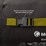 Спальний мішок MOUSSON RACE L OLIVE, фото 9