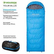 Спальний мішок MOUSSON TOUR R BLUE