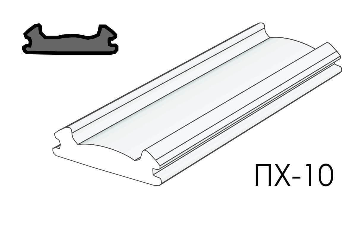 Вставка ALTEZA для натяжных потолков - Вставка ПХ-10 (100м.п.)