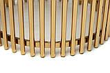 Журнальний стіл CJ-1 білий мармур + золото, фото 6