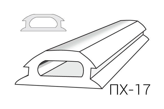 Вставка ALTEZA для натяжных потолков - Вставка ПХ-17 (100м.п.)