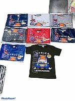 Детская трикотажная футболка для мальчика Afrika Around размер 1-4 года, цвет уточняйте при заказе